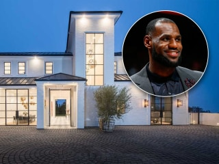 LeBron James scored big with this slam dunk of a mansion