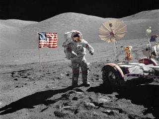 45 Years Ago: Apollo 17 photos spotlight last moonwalkers