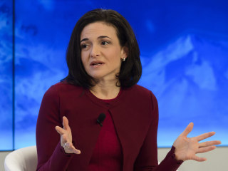 Sheryl Sandberg warns women may face workplace backlash following #MeToo movement