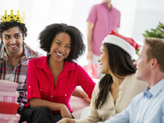 Most workers say that they'd rather skip the holiday party. Here's how to survive it.