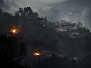 Illegal campfire caused 'Skirball' blaze that torched homes in Bel-Air, officials say