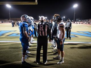 Storm-battered teams face final football showdown