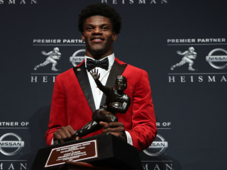 Heisman finalists Jackson and Love could make college football history