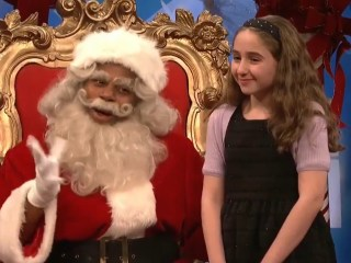 'SNL' Santa gets kids' tough questions about Franken, Moore, Trump