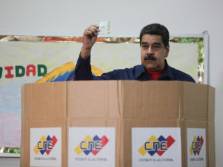 Maduro challenger, Henri Falcon, disrupts Venezuela's presidential vote