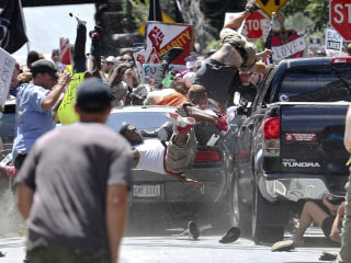 Suspect in deadly Charlottesville car attack faces new charge: first-degree murder