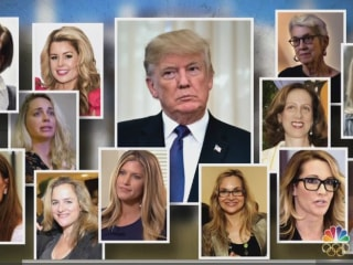 Trump accusers to recount alleged harassment