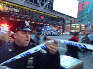 NYC authorities respond to explosion near Port Authority Bus Terminal