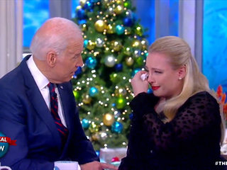 Joe Biden consoles Meghan McCain over father's health issues