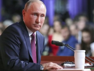 Putin: U.S. agencies manipulated Russia doping testimony