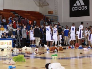 Stuffed animals all over the court? Well worth a technical foul