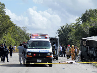 Mexico tourist bus crash caused by negligence and speed, official says
