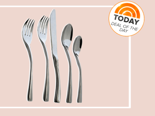 Deal of the Day: 50 percent off Knork 20-piece flatware set
