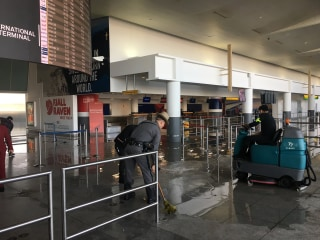 Frozen pipe causes flooding, adds to chaos at JFK airport