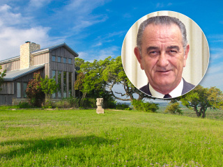 Lyndon B. Johnson's former Texas ranch for sale for $2.8 million