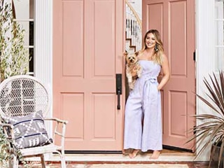 Hilary Duff's Los Angeles home is a perfect blend of feminine and modern