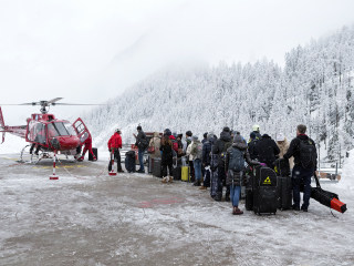 Zermatt avalanche risk: 13,000 tourists stranded at ski resort after heavy snow