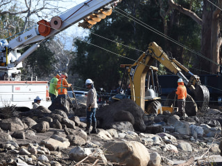 Children among dead in huge California mudslide, 43 people reported missing
