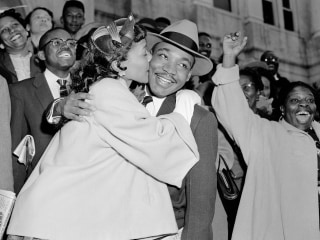 Martin Luther King Jr.: His life in black and white