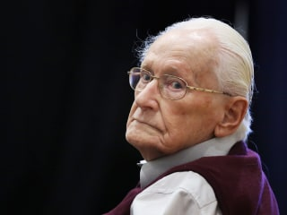 Oskar Groening, known as 'Bookkeeper of Auschwitz,' asks for clemency