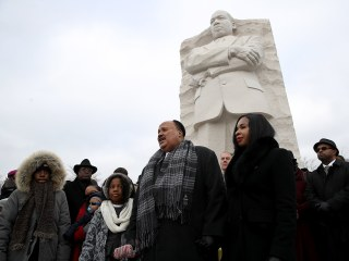 MLK Day marked by Trump criticism, pledges to fight racism
