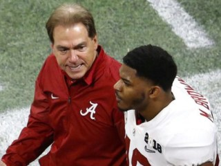 Alabama player who shoved coach during title game transfers from school