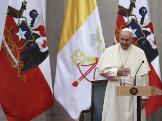 Pope Francis begs forgiveness for Chile priest sex abuse