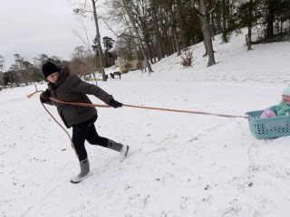 Deep South, deep freeze: Ice and snow turn travel treacherous
