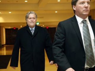 Bannon subpoenaed by House committee after refusing to answer questions