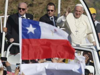 Pope in Chile will say Mass on contested land used for torture