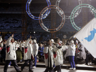 South, North Korea agree to form joint Olympic team, march together