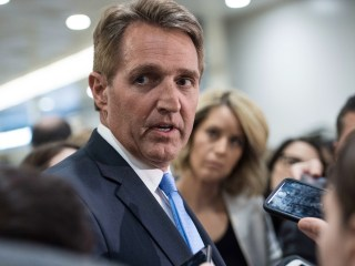 Read Senator Jeff Flake's full speech on Trump's media attacks