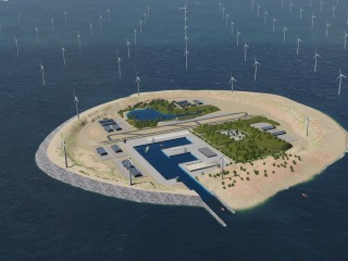 World's biggest wind farm would have its own artificial island