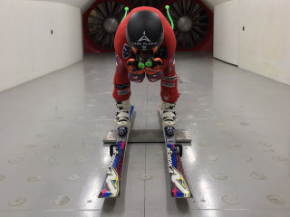 Seeking the tiniest of edges, skiers turn to wind tunnels