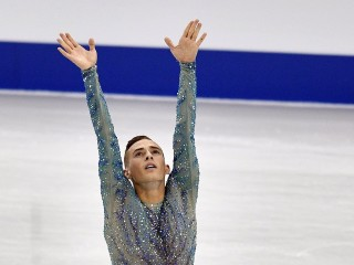 With 'flair for the dramatic,' Adam Rippon is ready for Olympic spotlight