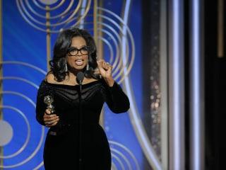 Full transcript of Oprah Winfrey's Golden Globes acceptance speech