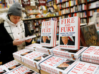 Sales of Michael Wolff's 'Fire and Fury' exceed 1.7 million, publisher says