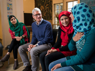 Apple promises to help Malala Fund educate over 100,000 girls