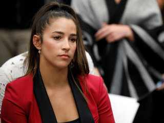 Gymnast Aly Raisman sues U.S. Olympic Committee over Nassar abuse