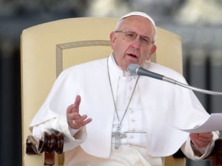 Pope says 'fake news' dates to Adam and Eve, adds 'truth will set you free'