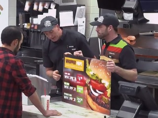 Burger King shows support for net neutrality using Whoppers to prank customers