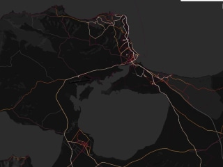 Strava fitness tracking map reveals military bases, movements in war zones