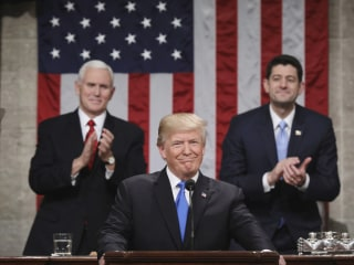 Trump's State of the Union: 'Never been a better time to start living the American Dream'