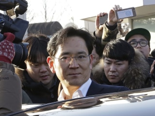 Samsung heir Lee Jae-yong freed after appeal in South Korea