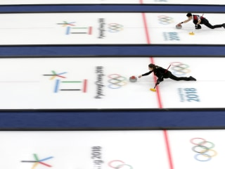 On your marks, get set ... the Winter Olympics are under way!