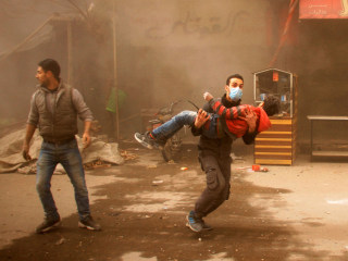 12 children dead from airstrikes near Syria's capital