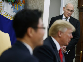 White House mess leaves embattled Kelly in limbo