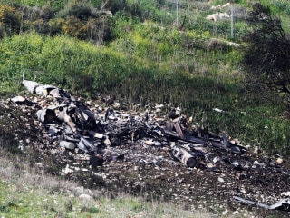 Israel warns Iran, Syria  'playing with fire' as fighter jet crashes during airstrikes