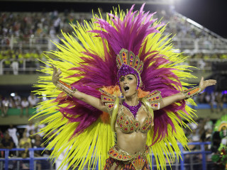 Spirit of Samba: Carnival sets Rio alight as dancers take to the Sambadrome