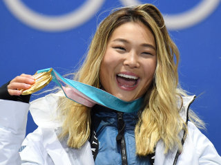 Chloe Kim's post-gold medal treat? Ice cream